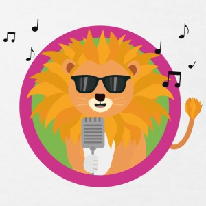 Vocal music lion Shirts - Kids' Organic T-shirt