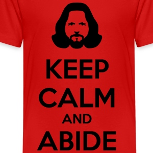 keep calm and abide Shirts - Teenage Premium T-Shirt