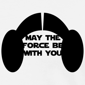 Leia, may the force be with you! - Männer Premium T-Shirt