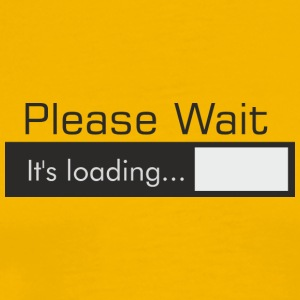 Please_Wait - Männer Premium T-Shirt