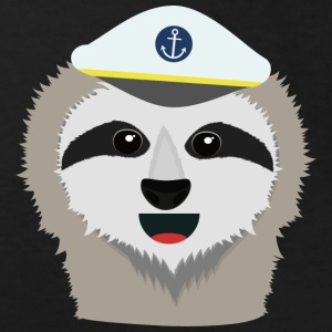 Captain sloth with Hat Shirts - Kids' Organic T-shirt