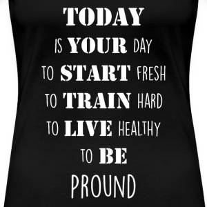 motivation monday T-Shirts - Frauen Premium T-Shirt