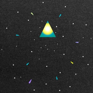 Triangle and space Czapki  - Czapka krasnal z dżerseju