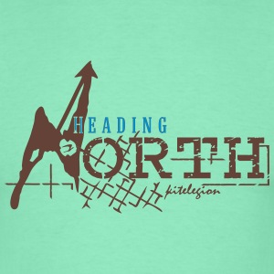 heading north_vec_3 fr Tee shirts - T-shirt Homme