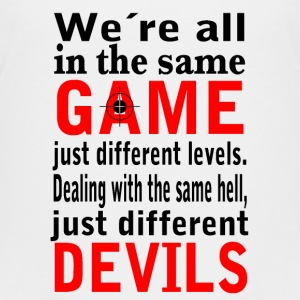 Devil Game T-Shirts - Teenager Premium T-Shirt