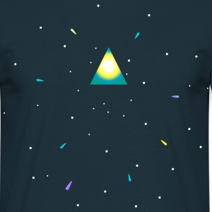 Triangle and space Tee shirts - T-shirt Homme