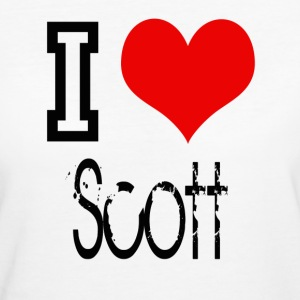 I Love Scott T-Shirts - Frauen Bio-T-Shirt