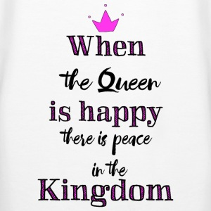 When the Queen is happy Pullover & Hoodies - Frauen Premium Hoodie