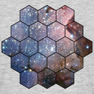 Hexagon Galaxy T-Shirts - Männer T-Shirt