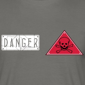 danger_vec_1 en T-Shirts - Men's T-Shirt