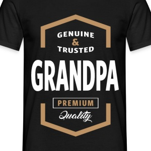 Genuine Grandpa Tshirt - Men's T-Shirt