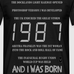 1987 30th birthday - Men's T-Shirt