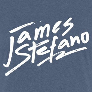 James Stefano 2017 Logo Wit T-shirts - Vrouwen Premium T-shirt