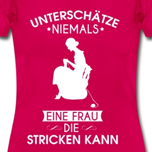 stricken - Frauen T-Shirt