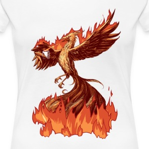 Phoenix Tea T-Shirts - Frauen Premium T-Shirt
