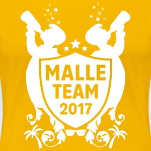 malle team 2017  T-Shirts - Frauen Premium T-Shirt
