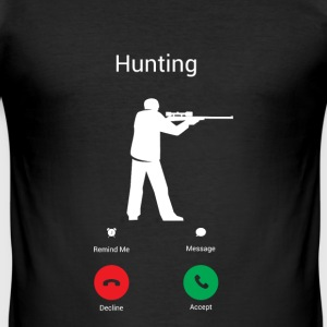 HUNTING CALLS! T-Shirts - Men's Slim Fit T-Shirt