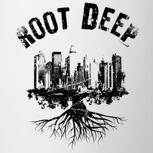 Root deep Urban schwarz Mugs & Drinkware - Mug