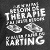 Thérapie karting Sweat-shirts - Sweat-shirt Homme Stanley & Stella
