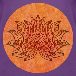 Zen Lotus Symbol Tops - Frauen Premium Tank Top