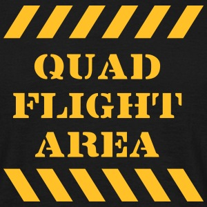 quad flight area T-Shirts - Männer T-Shirt