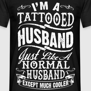 TATTOOED HUSBAND - Men's T-Shirt