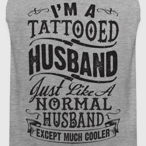 TATTOOED HUSBAND - Men's Premium Tank Top