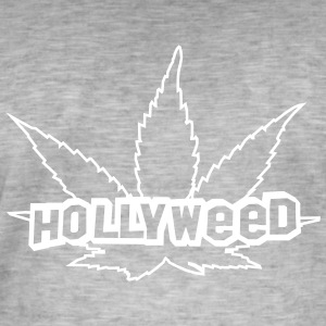 HOLLYWEED pot T-Shirts - Männer Vintage T-Shirt