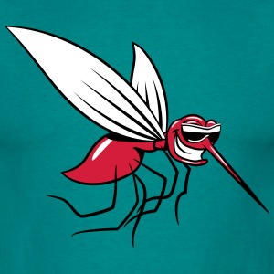 Mosquito sjove tegneserie sting solbriller T-shirts - Herre-T-shirt
