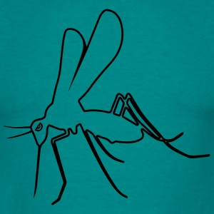 Mosquito funny stå design T-shirts - Herre-T-shirt