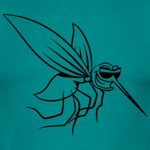 Mosquito wittily stinging comic sunglasses T-Shirts - Men's T-Shirt