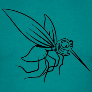 Mosquito sjove tegneserie brod T-shirts - Herre-T-shirt