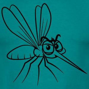 Mosquito brodden funny T-shirts - Herre-T-shirt