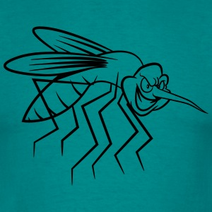 Mosquito funny tegneserie T-shirts - Herre-T-shirt