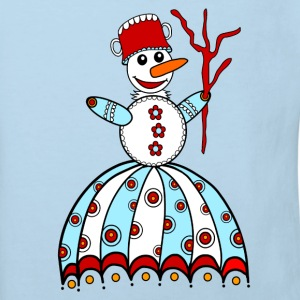 Snowman, winter, snow, children, baby, snowflake Shirts - Kids' Organic T-shirt