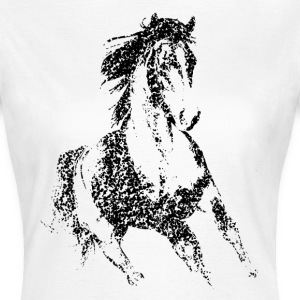 Running Horse T-Shirts - Frauen T-Shirt