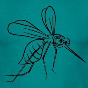 Mosquito bite tegneserie funny T-shirts - Herre-T-shirt