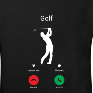 GOLFING IS CALLING ME! THE GOLFER IN ME COMES OUT! Shirts - Kids' Organic T-shirt