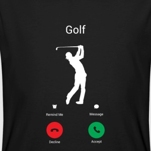 GOLFING IS CALLING ME! THE GOLFER IN ME COMES OUT! T-Shirts - Men's Organic T-shirt