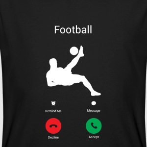 FOOTBALL GETS ME! -I MUST CLICK GO! T-Shirts - Men's Organic T-shirt