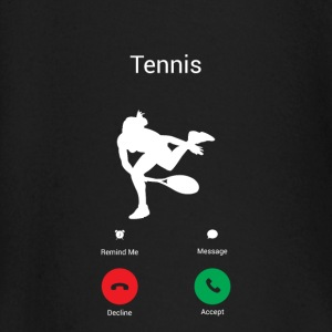 TENNIS GETS ME - I MUST TO TENNIS! Baby Long Sleeve Shirts - Baby Long Sleeve T-Shirt