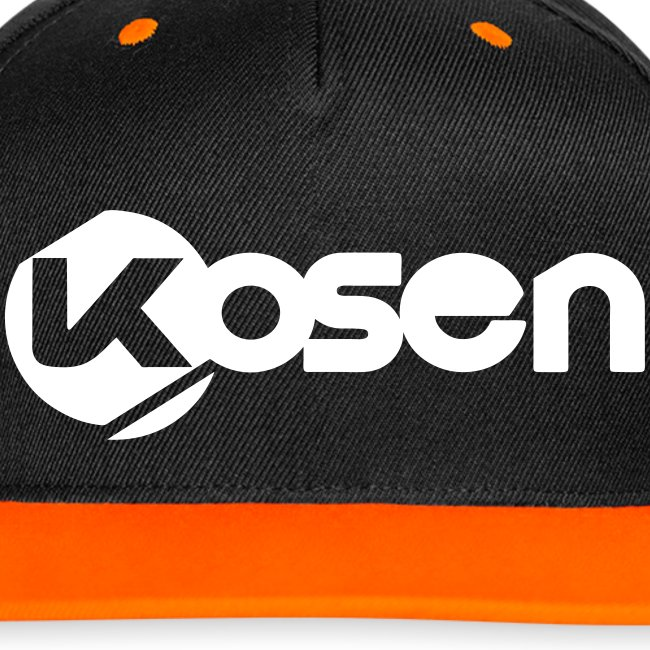 Kosen Letters Snapback Cap