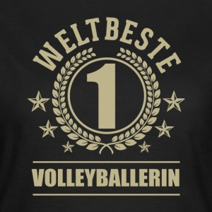 Weltbeste Volleyballerin T-Shirts - Frauen T-Shirt