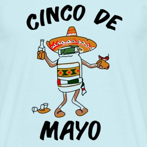 Cinco De Mayo - Masterminds - T-shirt - Men's T-Shirt