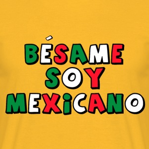 Besame Soy Mexicano - Masterminds - T-shirt - Men's T-Shirt