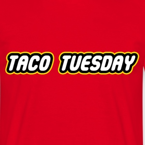 Taco Tuesday - Men's T-Shirt