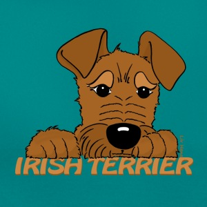 Irish Terrier Kopf - Frauen T-Shirt
