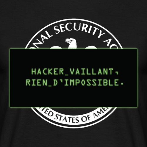 Hacker vaillant rien d'impossible