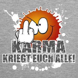 Karma kriegt Euch Alle Ropa deportiva - Tank top premium hombre