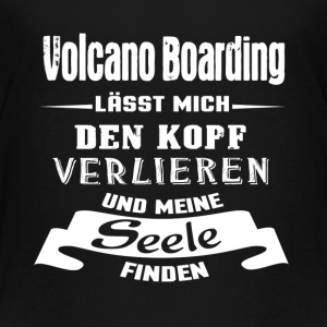 Volcano Boarding - Seele T-Shirts - Kinder Premium T-Shirt